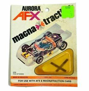 Aurora AFX Magna Traction Magnatraction Cars 8780-240 Pick Up Shoes Car Vintage