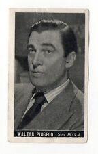 Walter Pidgeon 1947 Kwatta Film Stars Belgium Chocolate Card #59