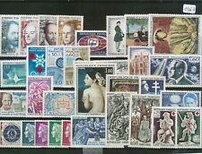 TIMBRES DE FRANCE ANNEE COMPLETE 1967 NEUF LUXE **