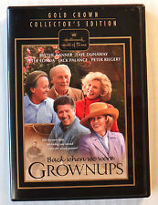 Back When We Were Grownups ~ Hallmark DVD ~ TV Movie ~ Blythe Faye Peter Jack