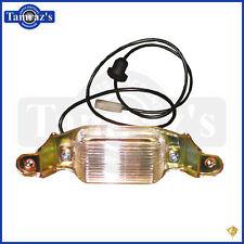 64-72 GTO LeMans Rear License Plate Lamp Light Assembly - GoldenStar
