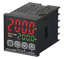 température contrôle Pt100 / SSR Omron E5CB pilote Température