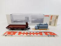 CM164-0,5# Märklin H0/AC 46075 Niederbordwagen DB NEM KK;  Dieselmotor, NEUW+OVP