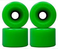 Kryptonics Star-Trac Skateboard Wheels 65mm / Green / 86a Set