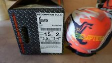 New 15lb Hammer Redemption Solid Bowling Ball 32069