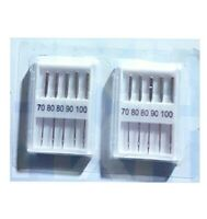 10 X STANDARD SEWING MACHINE NEEDLES FITS MOST MACHINES BROTHER JANOME SINGER