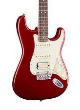 Guitares électriques rouge 6 cordes