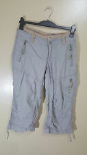 ladies 3/4 length H & M SPORT* CARGO size euro 38---US 8