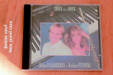 Clayderman - Stenberg - Amour pour amour - 11 titres - Boitier neuf - CD