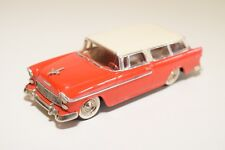 . U.S.A. MODELS MOTOR CITY MC-5 CHEVROLET NOMAD WAGON 1955 RED MINT CONDITION