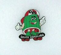 Odyssey Of The Mind South Carolina Trading Pin - Watermelon on Skateboard