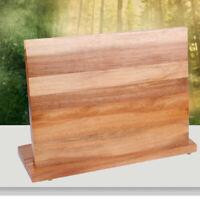 Holz Magnet Messerhalter  Kreative Küche Bar Speicherblock Messer Stand