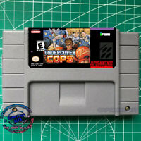 UNDERCOVER COPS SNES Video Game USA  English Version