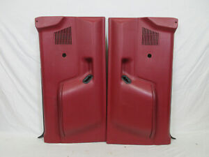 Red Interior Door Panels Parts For Ford Bronco For Sale Ebay