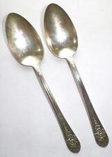 2 Jubilee Silverplate Tablespoons Wm Rogers International Silver Vintage 1953