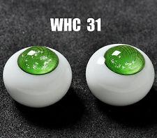 18Mm Special Green No Pupil Glass Bjd Eyes for Dod Dz Aod Volks Reborn Doll luts