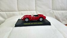 FERRARI 250 TESTAROSSA 1/43 1 43 FERRARI COLLECTION