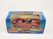[PH3-34] BBURAGO BURAGO 1/43 STREET FIRE #41170 SHELBY SERIES 1 ROSSO RED NIB