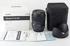 Sigma AF 35 mm 1:1,4 DG HSM für Nikon F, ART-Serie