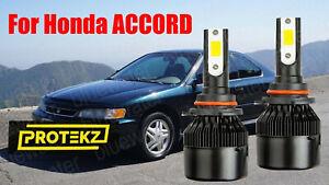 LED ACCORD 1994-1997 Headlight Kit 9006 HB4 6000K White CREE Bulbs Low Beam