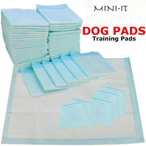 50 ,100  60X45CM LARGE PUPPY TRAINING PADS TOILET PEE WEE MATS PET DOG CAT