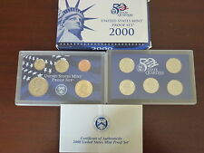 Estados Unidos-USA Official Proof Set 2000.