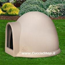 CUCCIA per cani e gatti IGLOO bella, funzionale, made in Italy, resina atossica