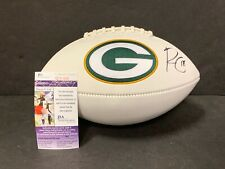 Randall Cobb Green Bay Packers Autographed Signed Football JSA COA