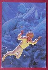 Carte postale La deviation , Moebius , postcard Humanoides associés