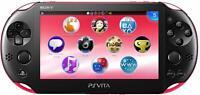 SONY PS Vita PCH-2000 ZA15 Pink / Black Console Only Wi-Fi model JAPAN IMPORT