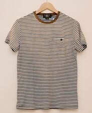 NEW Ralph Lauren RRL DOUBLE RL Men's Brown Striped Casual T Shirt S