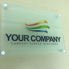 FULL COLOUR PRINTED A4 BUSINESS SIGN - HOUSE PLAQUE – ACRYLIC BOARD
