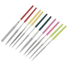 "Set 10pcs Diamond Needle Files 4"" for DIY Mold Craft Jewelry Polishing Tool"