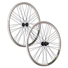 VUELTA 26 pulgadas juego ruedas bici Airtec1 Shimano Deore HB / FH-T610 blanco