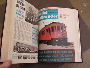 Model Railroader Magazine Bound Volume 31, 1964, Odor, As Is