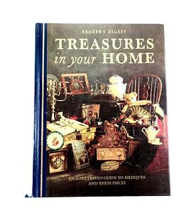 1993 READERS DIGEST - TREASURES IN YOUR HOME 544pg GUIDE TO ANTIQUES w PRICING