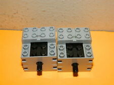2x LEGO MINDSTORMS TECHNIC RCX 1.0 ELECTRIC 9V MOTOR TOY (LOT OF 2x)