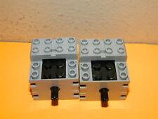 2x LEGO MINDSTORMS TECHNIC RCX 1.0 ELECTRIC 9V MOTOR TOY (LOT OF 2x)