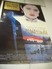FAREWELL MY CONCUBINE MOVIE POSTER 36X26 USED PO-69