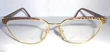 GLASSES VINTAGE MADE IN ITALY OCCHIALE VISTA UNISEX LORIS AZZARO LA103 100