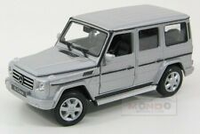 Mercedes Benz G-Class G500 V8 2009 Facelift Silver Welly 1:24 WE24012S