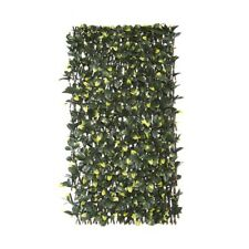 Laurel Leaf Supreme Greenery Wedding Feature Wall Bamboo Lattice Frame PVC x 2
