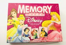 Memory Disney Princess Edition Matching Game Brand 98% Complete Missing 2 Cards