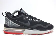 watch 128e9 46760 Nike Air Max Fury Men s Running Shoes Red Black White Gray Size 8