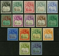 St Helena   1922-27   Scott # 79-94   Mint Lightly Hinged Set