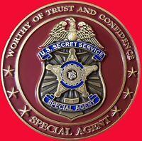 "US SECRET SERVICE WASHINGTON FIELD OFFICE CHALLENGE COIN 2"" T 37"