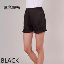 Women Satin Knickers Shorts Panties Pumpkin Bloomer Underpants Under Sleepwear