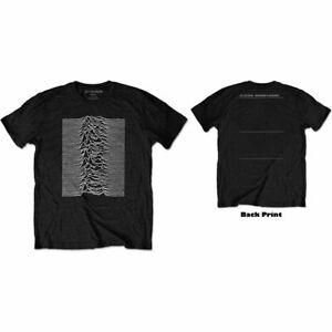 Joy Division - Unknown Pleasures Back Print Black Shirt