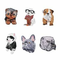 Cute Dog Patches Applique Iron on Badge Sticker on Clothes Jeans Decoration