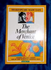 Shakespeare Made Easy The Merchant of Venice by William Shakespeare LIKE NEW